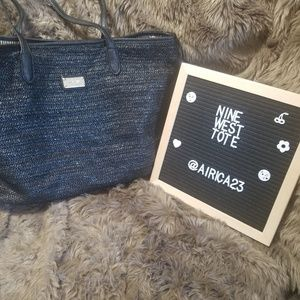 Nine West Woven Tote